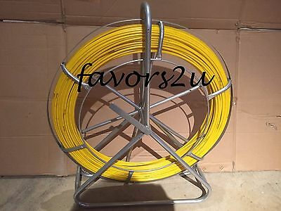 6Mm X 150Mts Fibreglass Rodder Duct Fish Snake Cable Puller Nbn Isgm