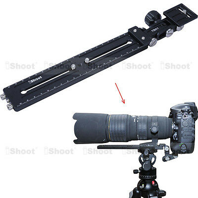 Long-Focus Lens Bracket Support Camera Quick Release Plate for Tripod Ball Head