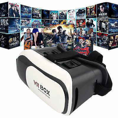 Super Real Virtual Reality New VR Box 2.0 3d Glasses Headset Bluetooth Control