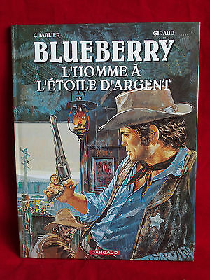 "BD CHARLIER GIRAUD BLUEBERRY "" lhomme a l etoile d argent "" dargaud"