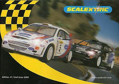 Scalextric 2000 Catalogue - Second Issue - Edition 41