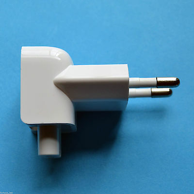 European Euro EU Apple Macbook Pro Travel Charger Adapter Plug Outlet Converter