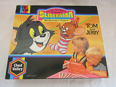 Tom and Jerry Sliderama projector and slides