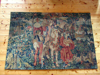 "A Large French Aubusson Style Wall Hanging/Tapestry(73.5"" x 50.75"")"