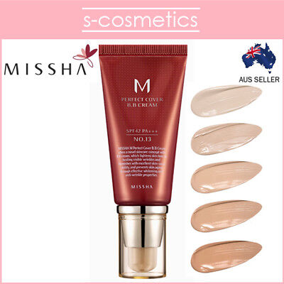 [MISSHA] M Perfect Cover BB Cream 50ml #13 #21 #23 #27 #31
