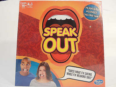 2016 New Funny  Speak Out Board Game Mouthguard Challenge Birthday Party Game
