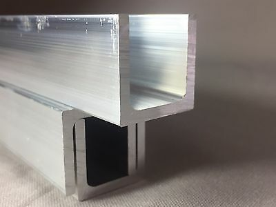 Aluminium U Channel Profile 15mm x 15mm x 2mm x 2000mm LONG     Give Best Offers