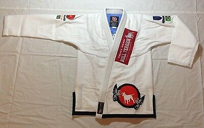 New Bull Terrier Bjj Gi 450gsm With Art work