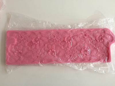 Silicon Fondant Floral Lace Mold for Cake Decorating (Silicone Mould) 265g