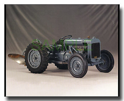 Ferguson-Brown Model A tractor framed picture