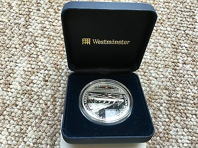 RMS Titanic Centenary silver proof $5 coin with coal insert (from the wreck)