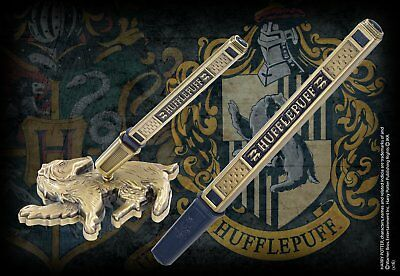 Harry Potter : HUFFLEPUFF HOUSE PEN & DESK STAND The Noble Collection NOB8621
