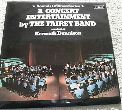 a concert entertainment by the fairey  band, dennison, decca sb 323. stereo