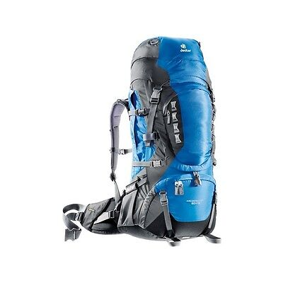 Sac à dos Deuter Aircontact Pro 60+15 Ocean Anthracite - Neuf