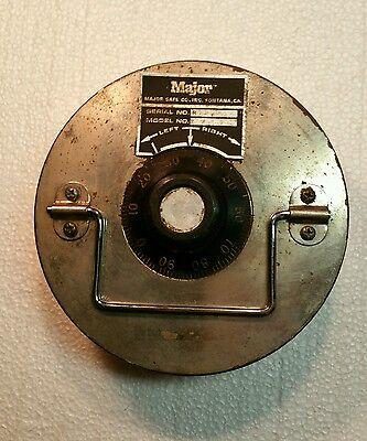 """Floor Safe MAJOR 6.5"""" lift out door security locksmith WITH Combo"""