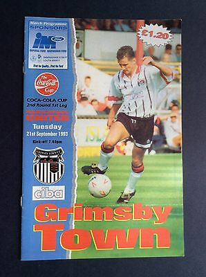 Grimsby Town v Hartlepool United 1993