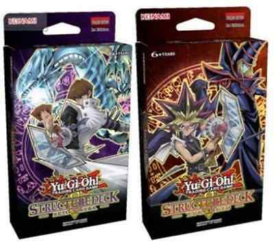 Yu-Gi-Oh! TCG Structure Deck Yugi Muto/ Structure Deck Seto Kaiba 2016