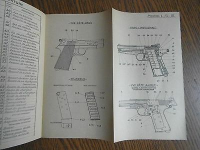 ORIGINAL French Manual pistol PA 35 PA35 dated 1947 Indochina War