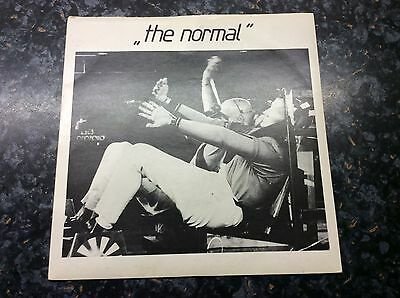 "The Normal T.V.O.D. Warm Leatherette 7"" Single Mute 001 @@LOOK@@"