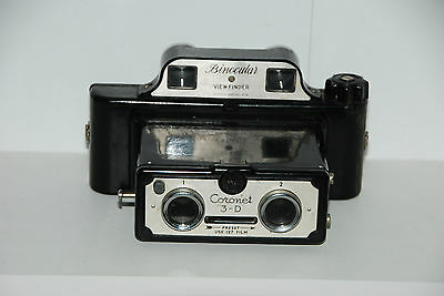 Old Vintage Coronet 3-D Stereoscopic Camera Rare