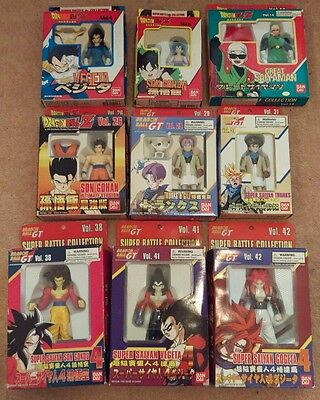 Dragonball Z, Dragonball GT Action Figures, Bandai, Goku, Vegeta, Gohan, Trunks