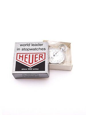 Nice HEUER trackmate with original box and papers, NOS,  1970´s