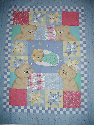 Cot Quilt Fabric panel/Cotton/sewing/quilting/craft.