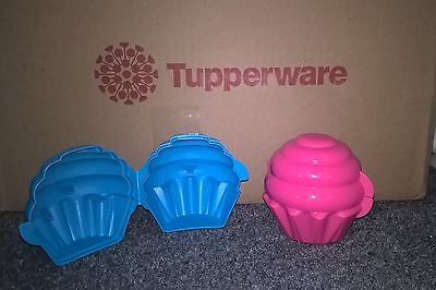 Tupperware Cupcake Keeper, Set of 2 - Direct from Factory