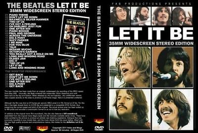 Beatles - Let It Be 35Mm 16.9 Widescreen Stereo Dvd