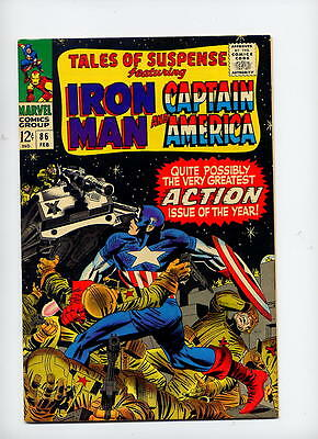 Tales of Suspense #86, 1966 Marvel, black cover