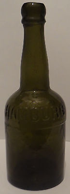 Embossed:m.hoff. Hamburg Bottle.mineral Water:soda Seltzer Bottle Germany 1890