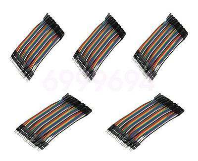 200pcs 1P 10cm 2.54mm Female-Female Jumper Wire Dupont Cable for Arduino