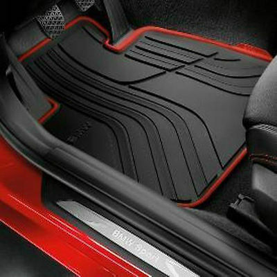 Bmw F30 2012 325I 335I Sedan Sport Line All Weather Floor Mats Front And Rear