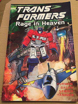 Transformers Rage in Heaven **Graphic Novel, Comic Book