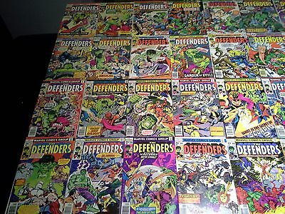 Defenders 21-152 F/VF to NM- 7.0 to 9.2 Bronze Copper 131 Comic Collection Lot