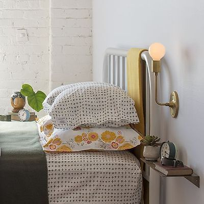 NEW Schoolhouse Electric One EURO PILLOW SHAM imperfect plus green west elm mod