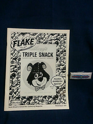 Flake Post Triple Snack The Breakfast Nostalgia Magazine Issue No. 3 1991