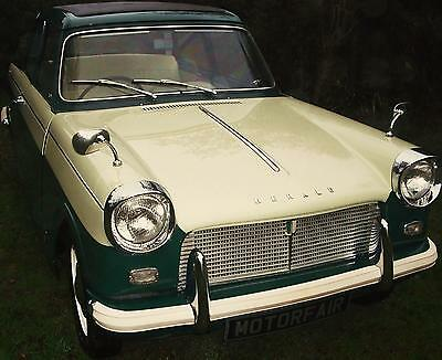 ONE OWNER 1964 Triumph HERALD 12/50 PHOTOGRAPHIC RENOVATION