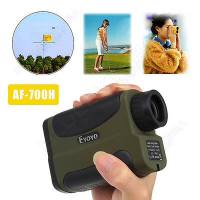 700M Monocular Golf Laser Range Finder w/Height Finding&Angle Speed Measurement