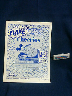 "Flake Post ""Cheerios"" The Breakfast Nostalgia Magazine No. 4 April/May 1991"