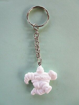 Michelin Man Keychain Key Fob Vintage Tires never used NICE