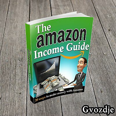 The Amazon Income Guide PDF eBook With Master Resell Rights!  Free Shipping!