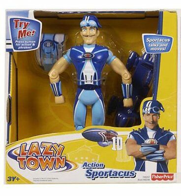 Fisher-Price Lazy Town Action Figure Action Sportacus