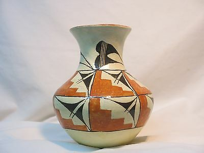 Acoma Pueblo Pot Native American Water Vessel