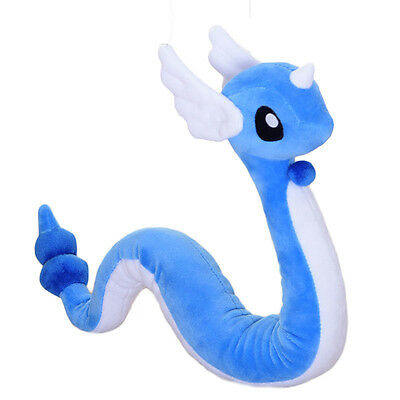 "Pokemon Go Dragonair Hakuryu Plush Doll Toy 27"" Monsters Stuffed Soft Kids Gift"