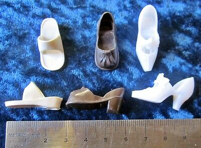 Three Pairs of Shoes For Sindy Dolls All Originals