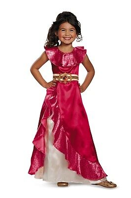 Elena of Avalor Classic Adventure Child Costume, Pink, Disguise