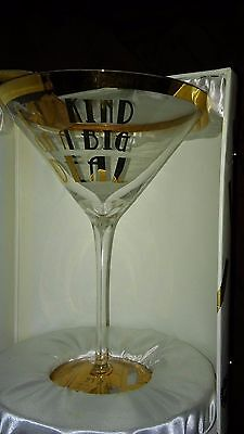 Obnoxious Affluence Collection - I Am Kind of a Big Deal Martini Glass 22 OZ