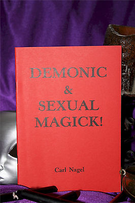 DEMONIC & SEXUAL MAGICK  Finbarr Occult Grimoire Black Satanic Magic