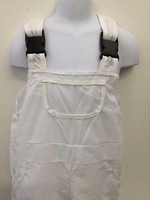 Dance Costume Medium Child Overalls Painter Black White Solo Competition Pageant
